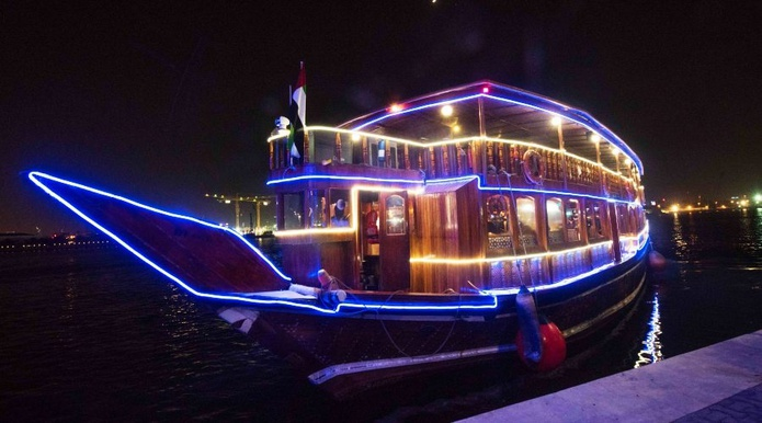 Jameela Dinner Cruise - Dubai Creek