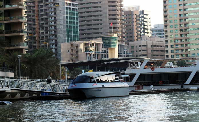 RTA Water Taxi in Dubai Marina