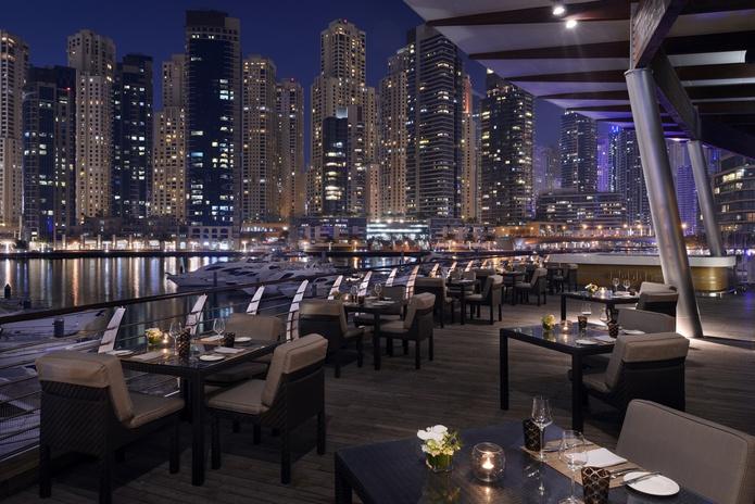 Aquara Terrace Evening