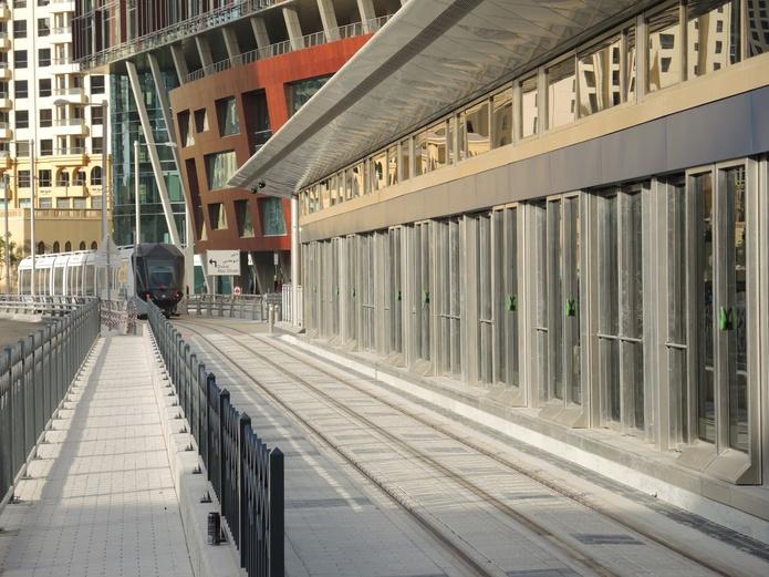 Dubai Tram platform