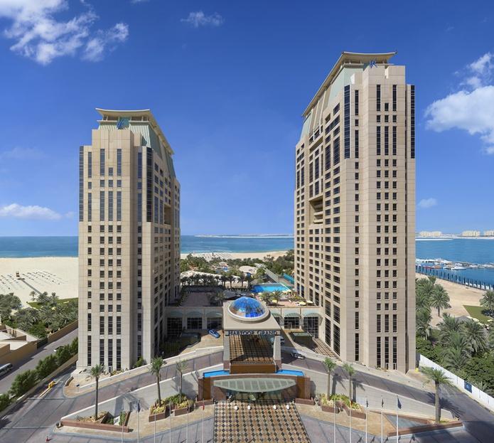 Habtoor Grand Beach Resort building