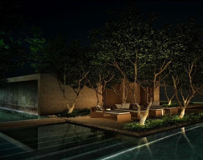 One Palm building sanctuary