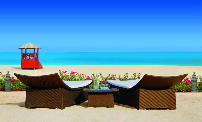 The Ritz-Carlton Dubai beach