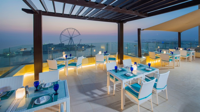 Pure Sky Lounge rooftop bar