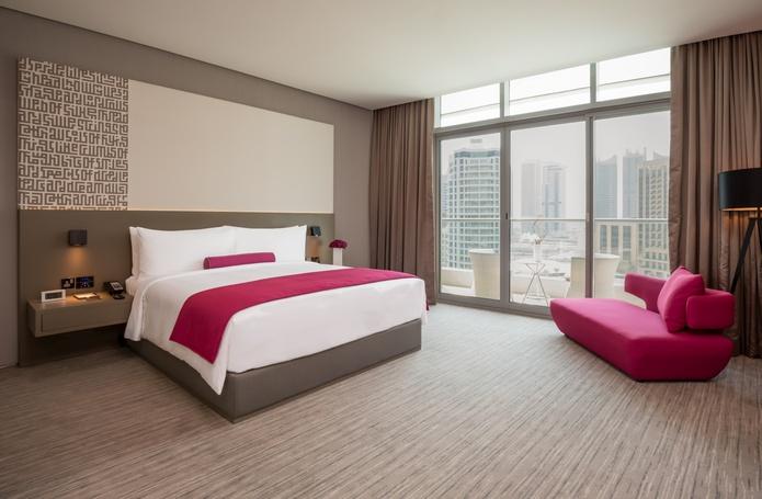 InterContinental Dubai Marina deluxe room