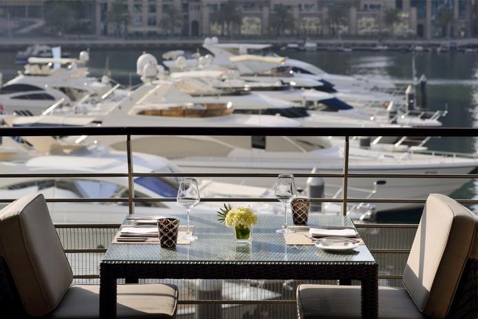 Dining at Dubai Marina Yacht Club
