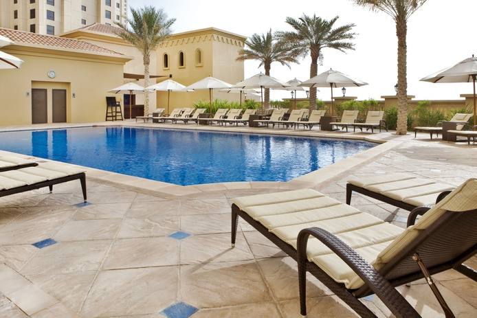 Hilton Dubai The Walk swimming pool