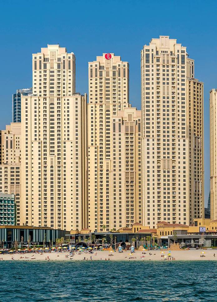 Ramada Plaza Jumeirah Beach Residence building