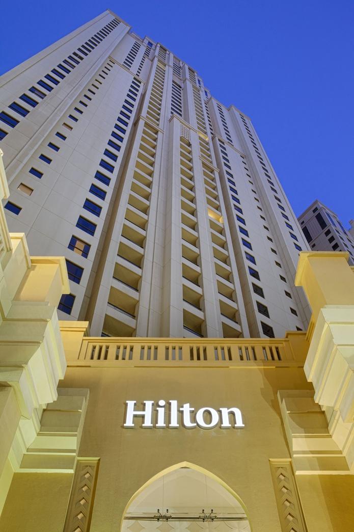 Hilton Dubai The Walk building