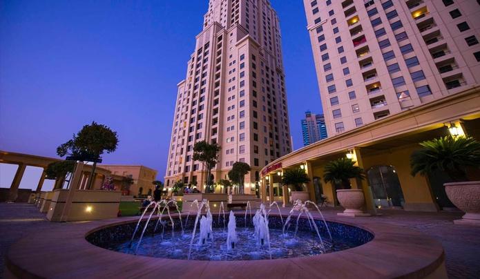 Amwaj Suites skyscrapers