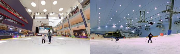 Ski and Ice Skate in Dubai