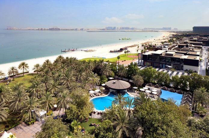 Sheraton Jumeirah Beach Resort aerial