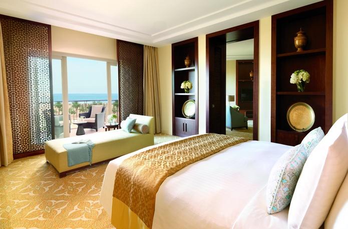 The Ritz-Carlton Dubai room with balcony