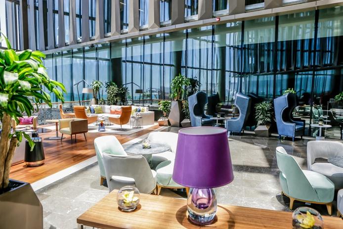 Rixos Premium Dubai lobby design chairs