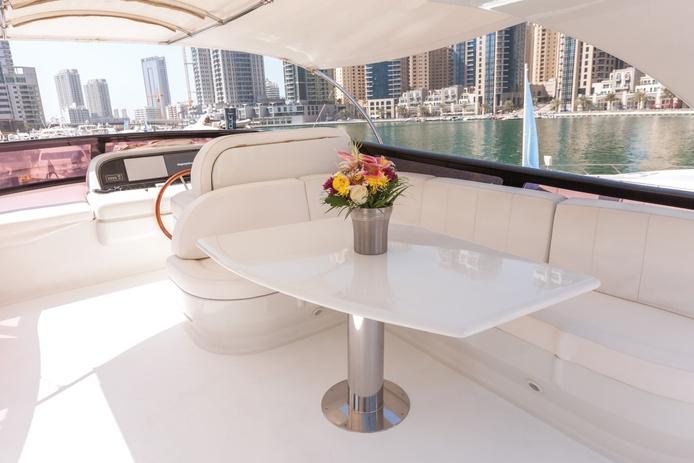 Maiora yacht sun deck