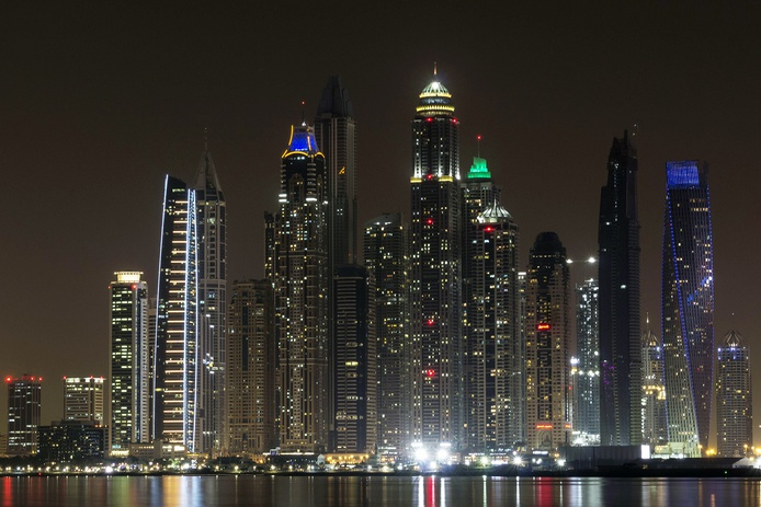 Dubai Marina Tallest Buildings