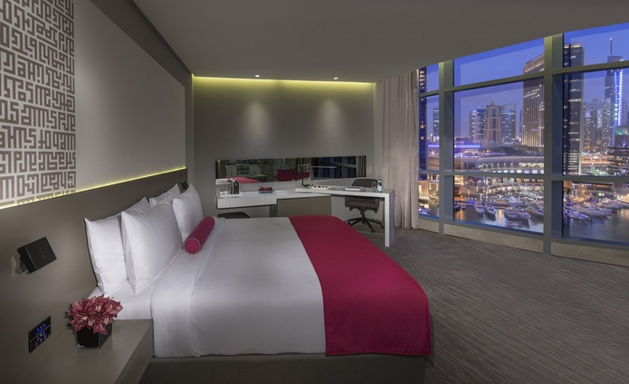 InterContinental Dubai Marina One King Bed Deluxe Room