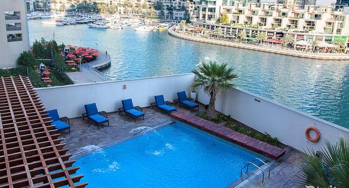 Dusit Residence Dubai Marina pool