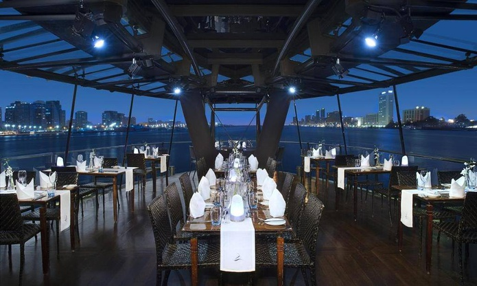 Bateaux Dubai Dinner Cruise boat outdoor