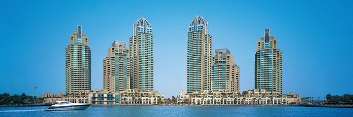 Dubai Marina 1 towers