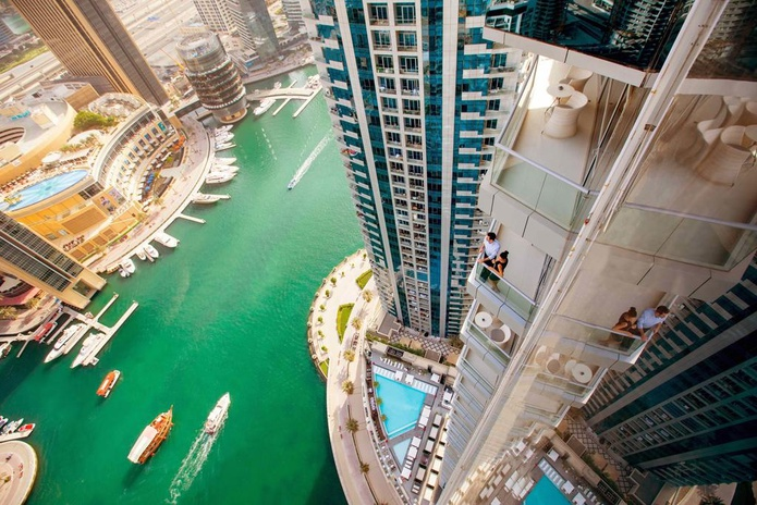 InterContinental Dubai Marina Balcony
