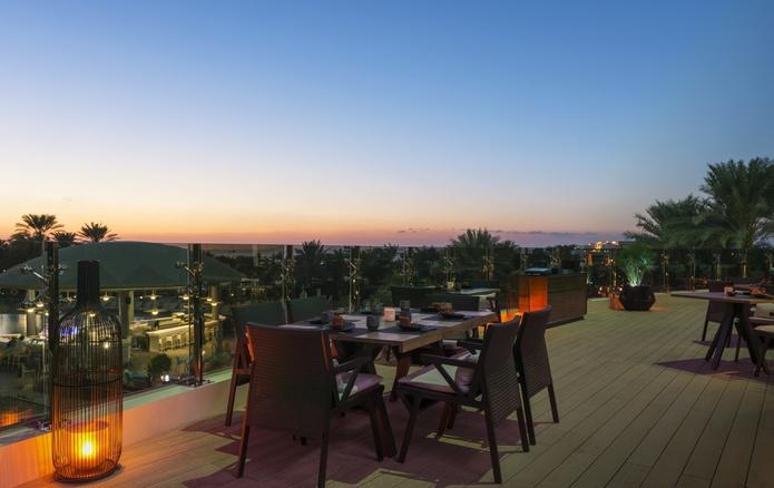 Zengo's rooftop terrace