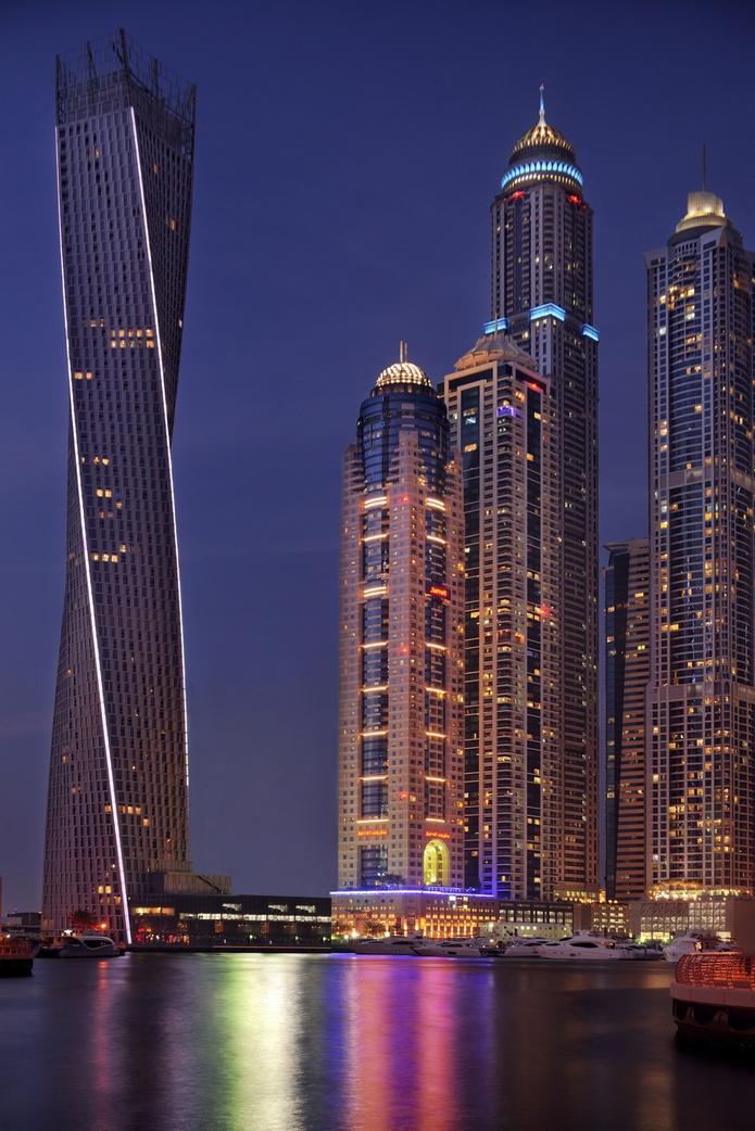 Dubai Marriott Harbour Hotel and Suites skyscraper