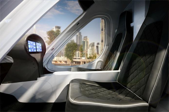 Volocopter interior