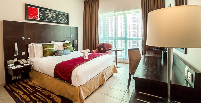 Dusit Residence Dubai Marina master bedroom