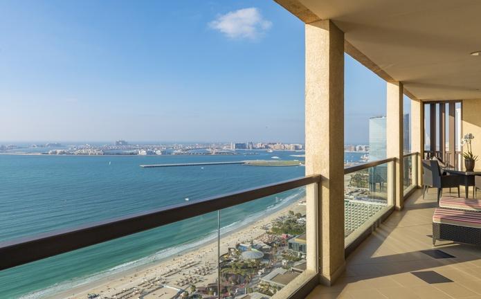 Sofitel Dubai Jumeirah Beach Imperial Suite Terrace