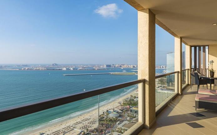 Sofitel Dubai Jumeirah Beach Balcony