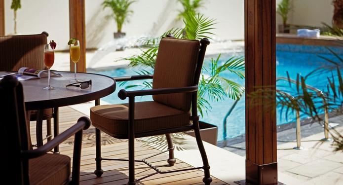 Dusit Residence Dubai Marina pool view
