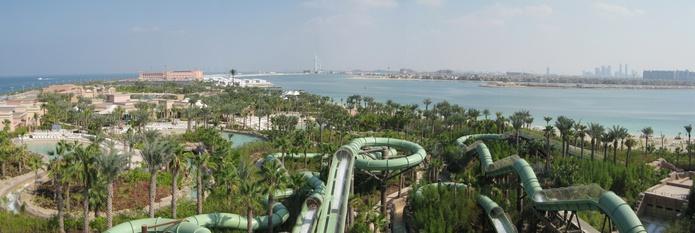 Aquaventure Waterpark panorama