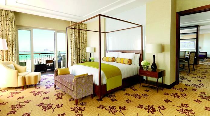 The Ritz-Carlton Dubai bedroom