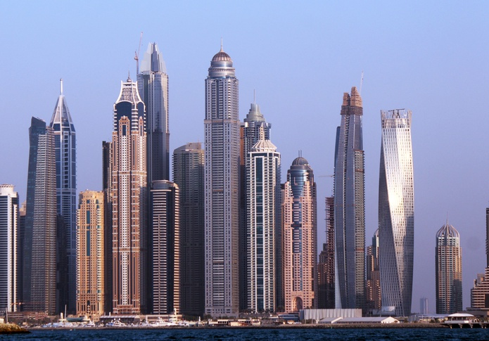 Princess Tower in Dubai Marina