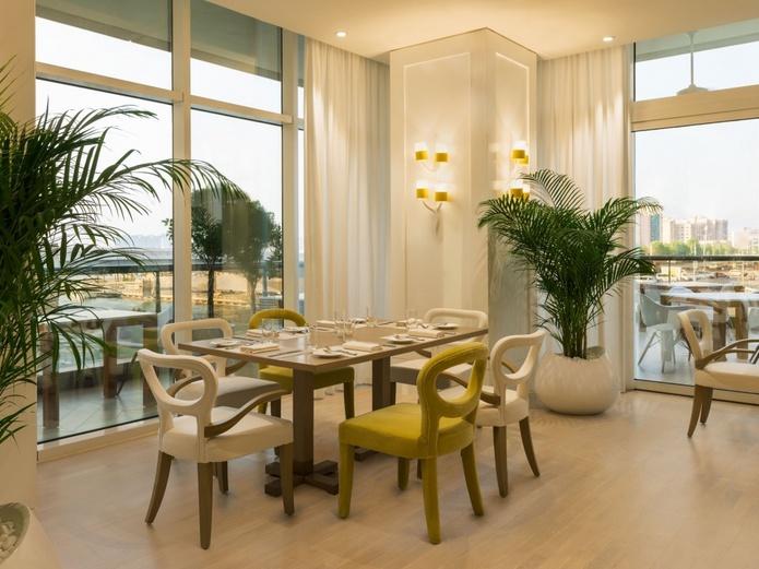 Rhodes W1 Restaurant in Dubai