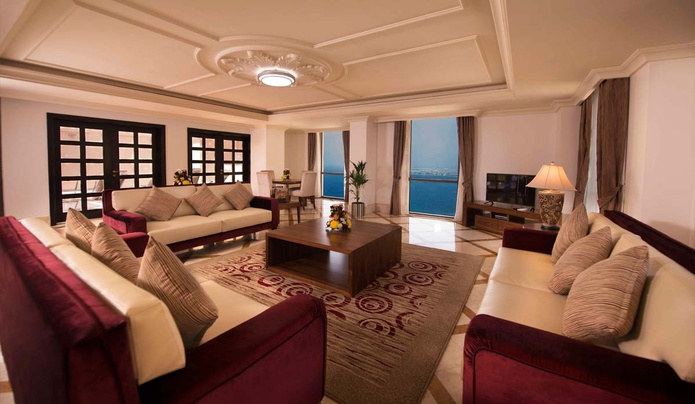 Penthouse living room