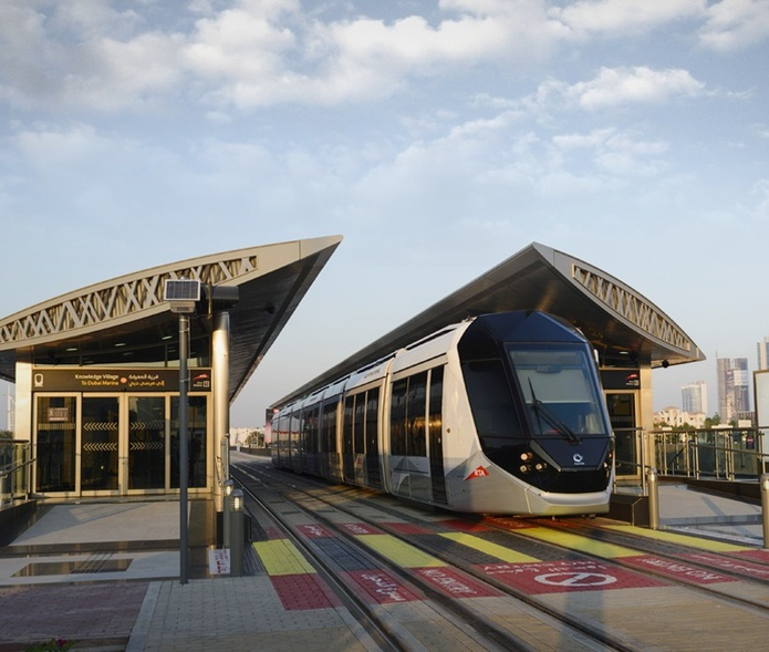 Dubai Marina tram
