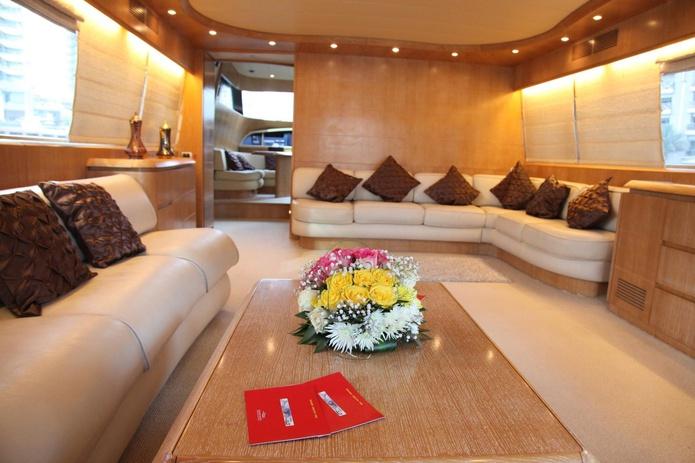 Maiora yacht lounge