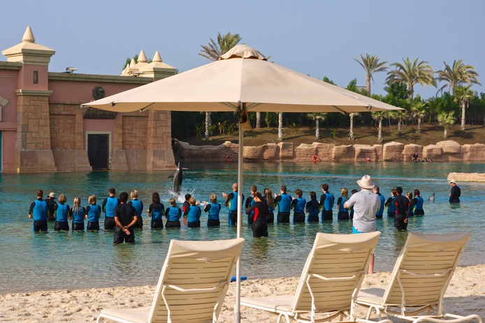 Dolphin Bay in Atlantis