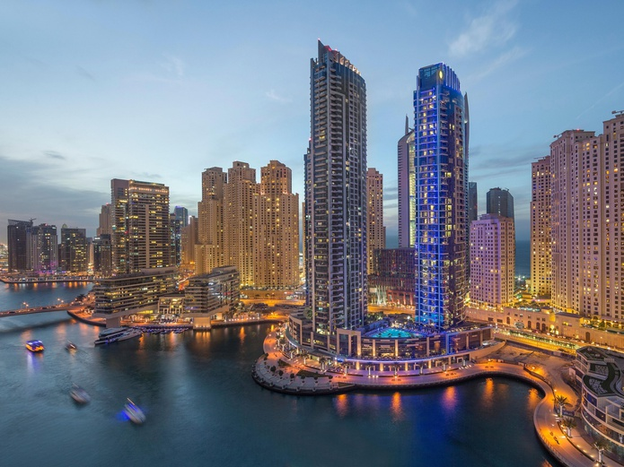 InterContinental Dubai Marina Building