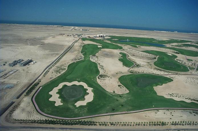 Emirates Golf Club in 1988
