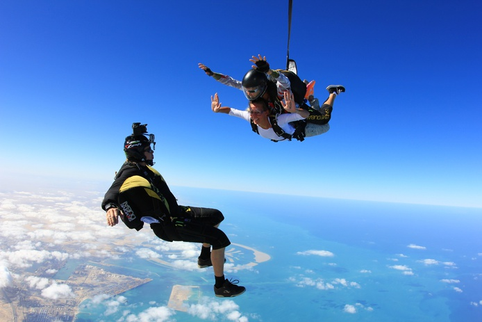Skydive in Dubai above Palm Jumeirah
