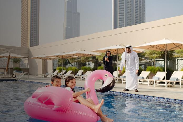 Rove Dubai Marina pool