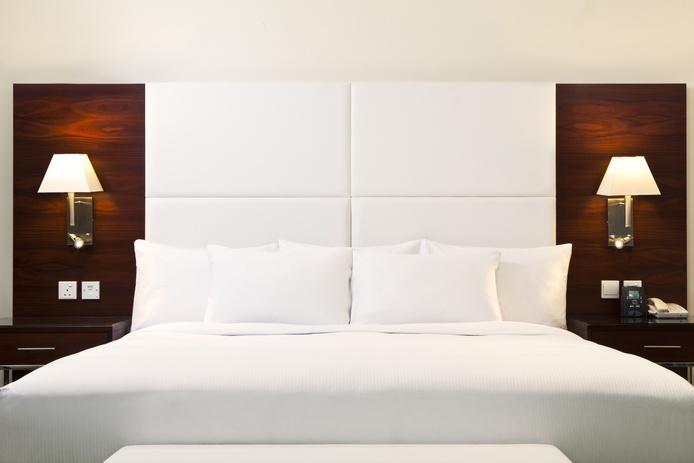 Hilton luxury bed
