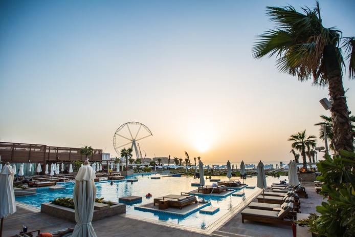 Rixos Premium Dubai pools