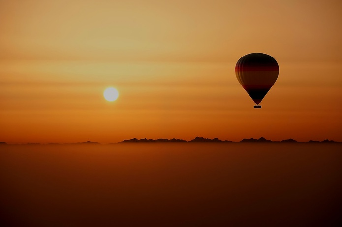 Hot Air Balloon Flight in Dubai