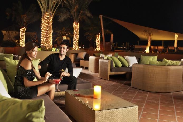 Amwaj Rotana terrace