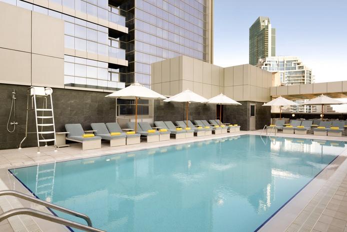 Wyndham Dubai Marina swimming pool