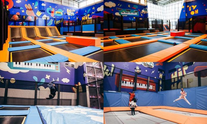 Trampoline Park at Dubai Bowling Centre